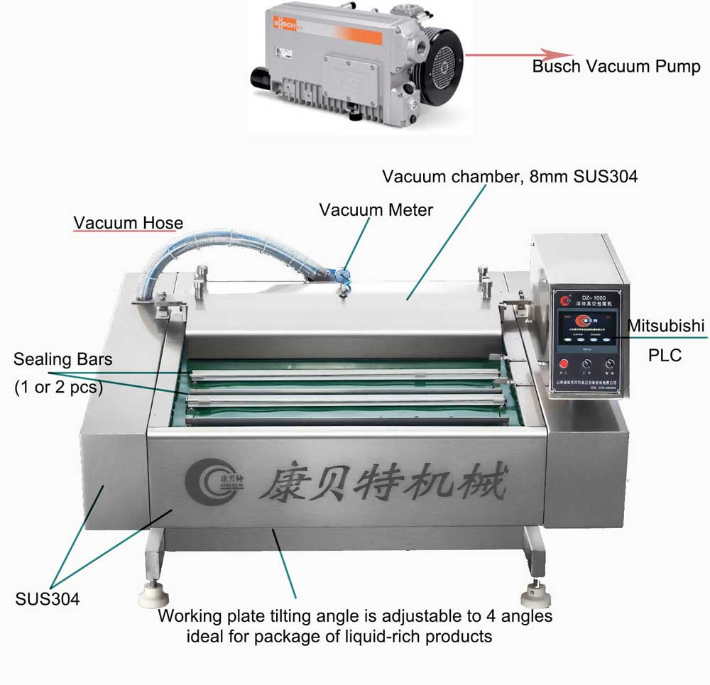 belt type vacuum sealer