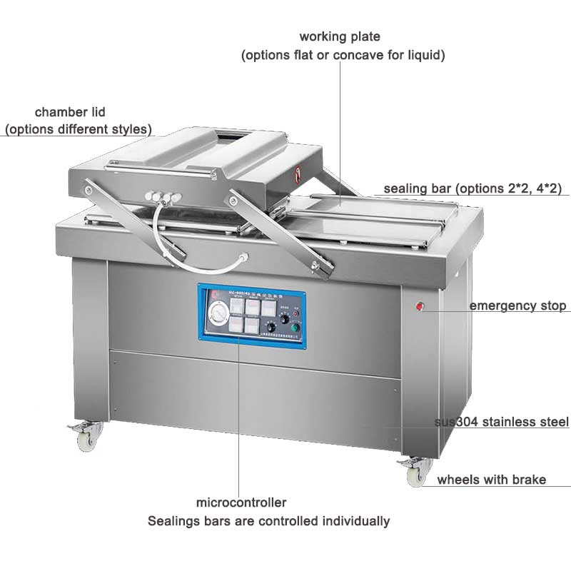 double chamber vacuum sealer machine