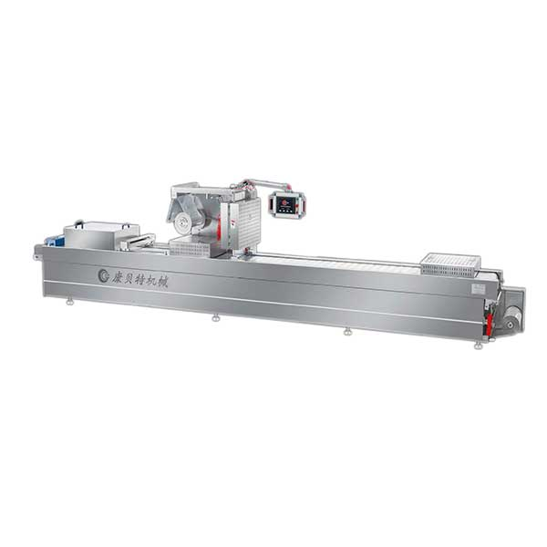 thermoforming packaging machine for bread
