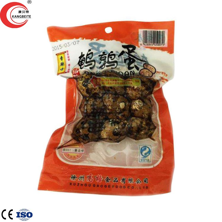 vacuum packed quail eggs