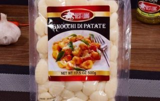 Gnocchi di patate packaging machine