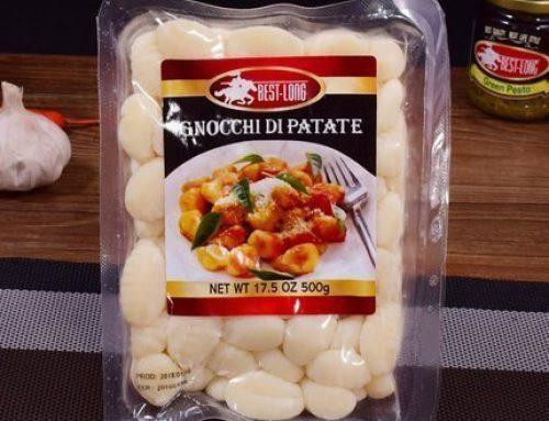 Formowanie termiczne maszyny pakującej Gnocchi di patate