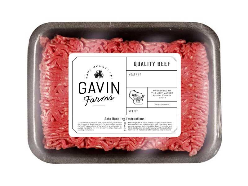 машина для упаковки говяжьего мяса