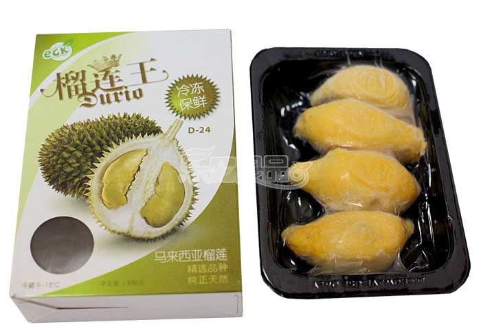 máquina de embalagem durian