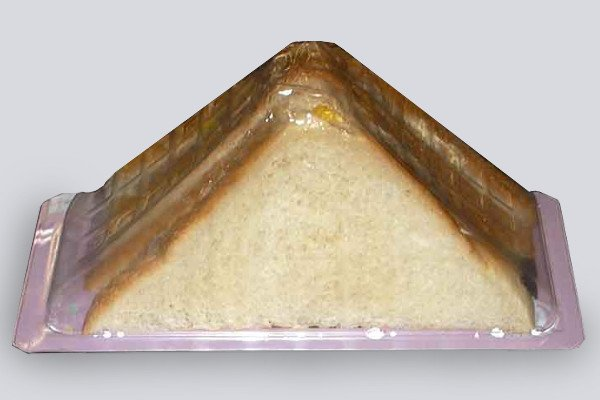 mesin pengemas roti panggang
