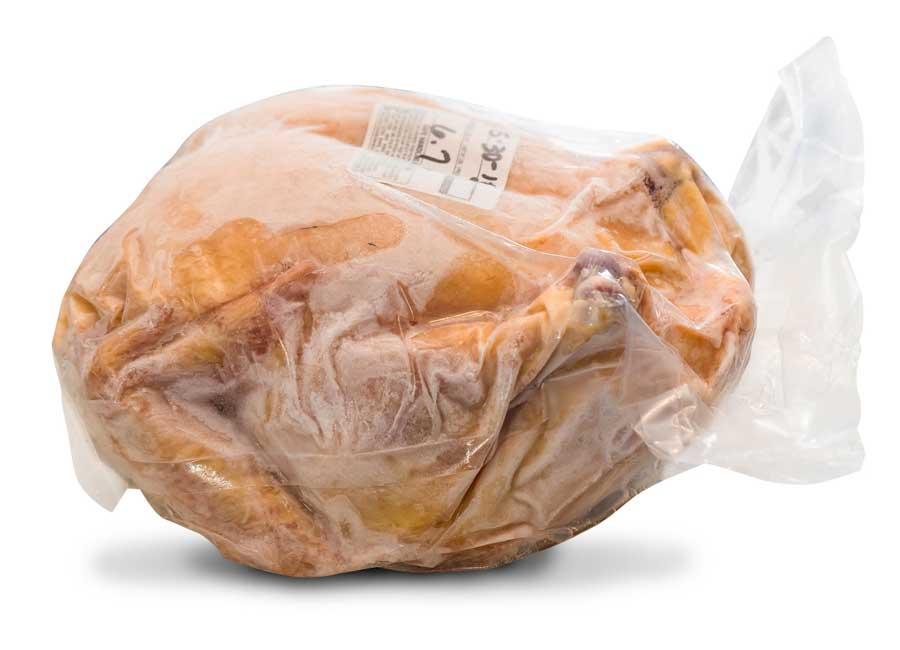 whole chicken packaging machine