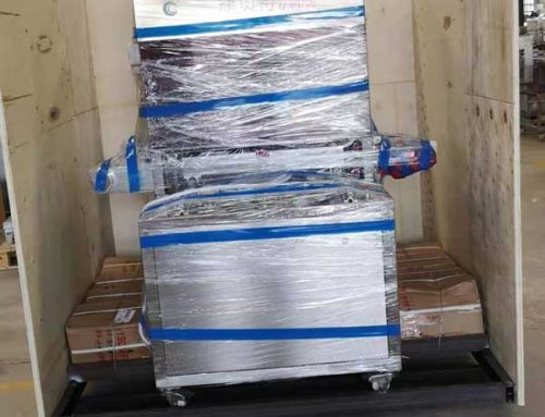 [Machine delivery] MAP modified atmosphere packaging machine delivering to CANADA customer