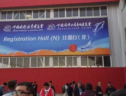 KANGBEITE MACHINERY na 2019 China Fisheries & Seafood EXPO