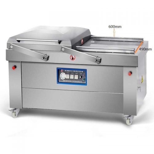 double chamber vacuum packing machine dz600/2s