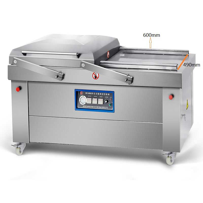 double chamber vacuum packing machine dz600/2s