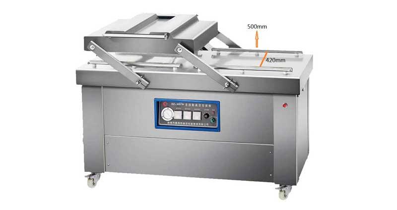double chamber vacuum packing machine dz500 2s