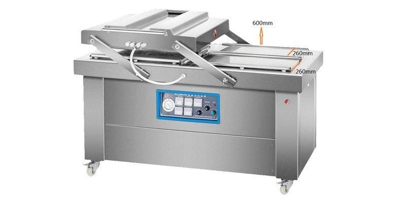 double chamber vacuum packing machine dz600