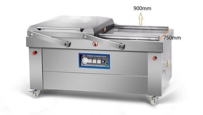 double chamber vacuum packing machine dz900