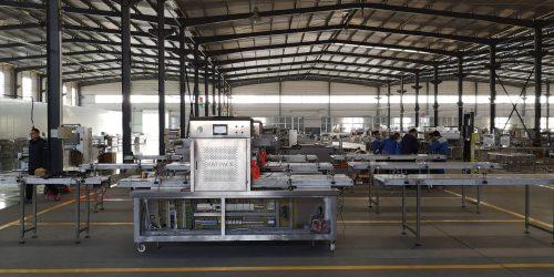 пакувальна машина з модифікованою атмосферою