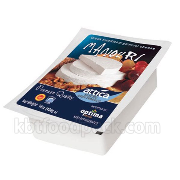 Attica Manouri Cheese vacuum packing machine