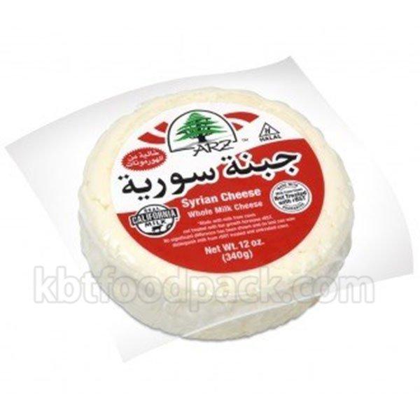 Вакуумная упаковочная машина с сирийским сыром