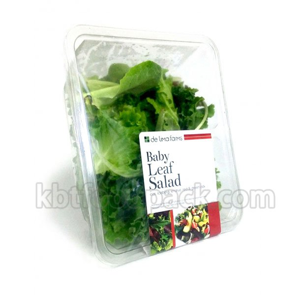 Baby leaf salad MAP packaging machine