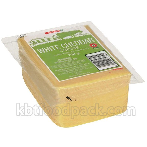 Cheddar cheese vacuum packing machine