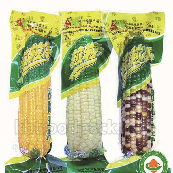 Corn cobs vacuum packing machine