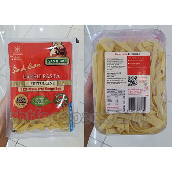 sariwang pasta packaging machine