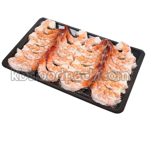 Frozen shrimp skin pack machine