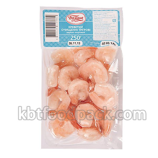 Frozen shrimp vacuum packing machine