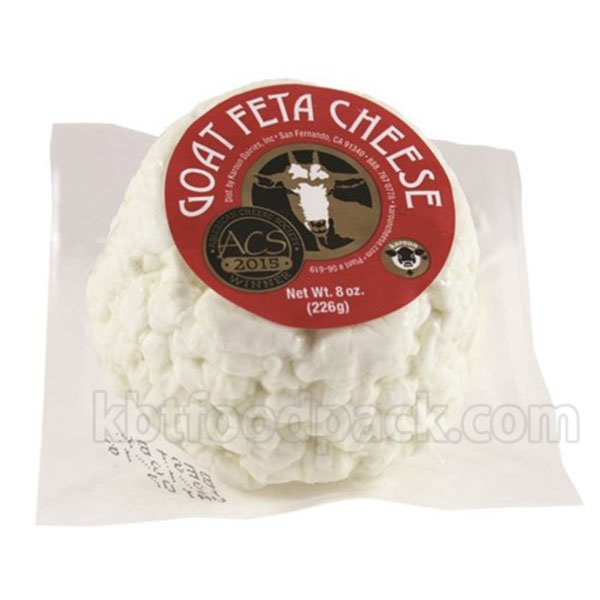 Goat feta cheese vacuum packing machine