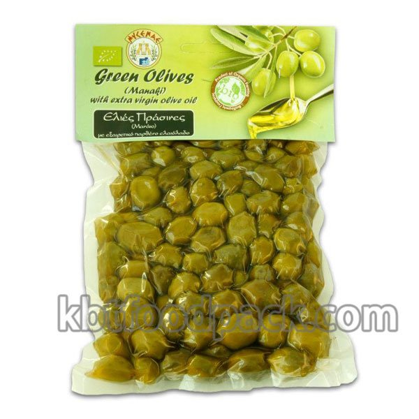 Green olives vacuum packing machine