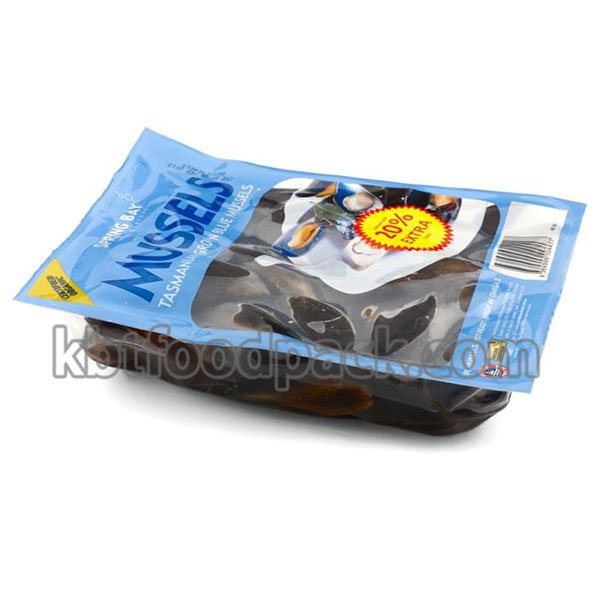 Mussel vacuum packing machine