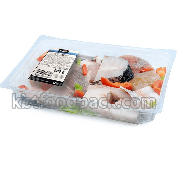 ready to cook fish fillets packaging machine