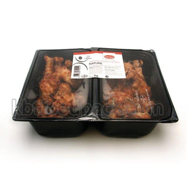 Máquina de embalagem de asas de frango assado