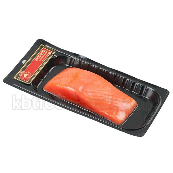 Salmon fillet skin packaging machine