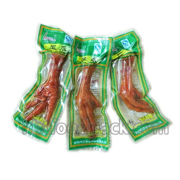 Salted chicken feet packaging machine