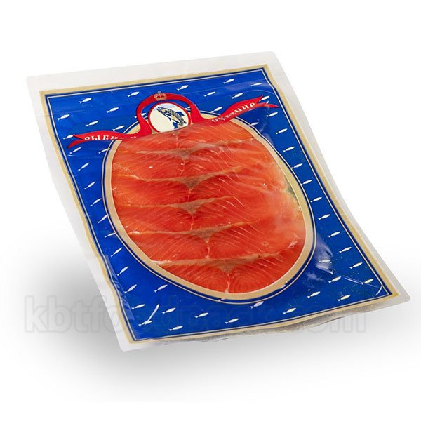 Salted salmon fillet vacuum packing machine