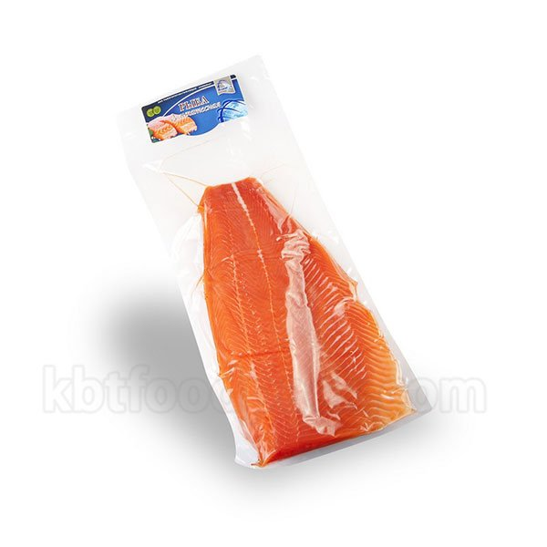Trout salmon fillet vacuum packing machine