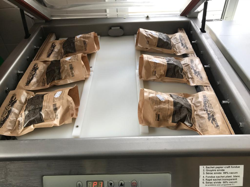 doble silid vacuum packing machine